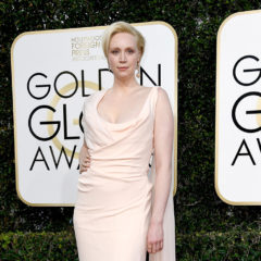 BEVERLY HILLS, CA - JANUARY 08:  Actress Gwendoline Christie attends the 74th Annual Golden Globe Awards at The Beverly Hilton Hotel on January 8, 2017 in Beverly Hills, California.  (Photo by Frazer Harrison/Getty Images)