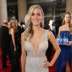 BEVERLY HILLS, CA - JANUARY 08:  TV Personality Kristin Cavallari at the 74th annual Golden Globe Awards sponsored by FIJI Water at The Beverly Hilton Hotel on January 8, 2017 in Beverly Hills, California.  (Photo by Jonathan Leibson/Getty Images for FIJI Water)