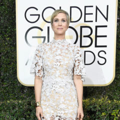 BEVERLY HILLS, CA - JANUARY 08:  Actress Kristen Wiig attends the 74th Annual Golden Globe Awards at The Beverly Hilton Hotel on January 8, 2017 in Beverly Hills, California.  (Photo by Frazer Harrison/Getty Images)