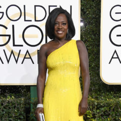 BEVERLY HILLS, CA - JANUARY 08:  Actress Viola Davis attends the 74th Annual Golden Globe Awards at The Beverly Hilton Hotel on January 8, 2017 in Beverly Hills, California.  (Photo by Frazer Harrison/Getty Images)