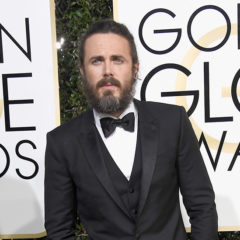 BEVERLY HILLS, CA - JANUARY 08:  Actor Casey Affleck attends the 74th Annual Golden Globe Awards at The Beverly Hilton Hotel on January 8, 2017 in Beverly Hills, California.  (Photo by Frazer Harrison/Getty Images)