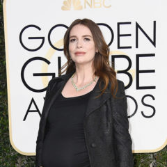 BEVERLY HILLS, CA - JANUARY 08:  Actress Saffron Burrows attends the 74th Annual Golden Globe Awards at The Beverly Hilton Hotel on January 8, 2017 in Beverly Hills, California.  (Photo by Frazer Harrison/Getty Images)
