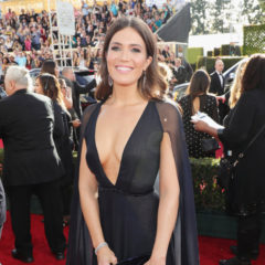 74th ANNUAL GOLDEN GLOBE AWARDS -- Pictured: Mandy Moore arrives to the 74th Annual Golden Globe Awards held at the Beverly Hilton Hotel on January 8, 2017 -- (Photo by: Neilson Barnard/NBC)