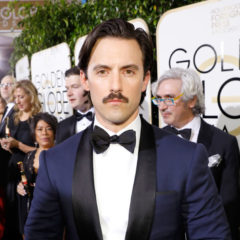 """74th ANNUAL GOLDEN GLOBE AWARDS -- Pictured: Milo Ventimiglia, """"This Is Us"""", arrives to the 74th Annual Golden Globe Awards held at the Beverly Hilton Hotel on January 8, 2017 -- (Photo by: Trae Patton/NBC)"""