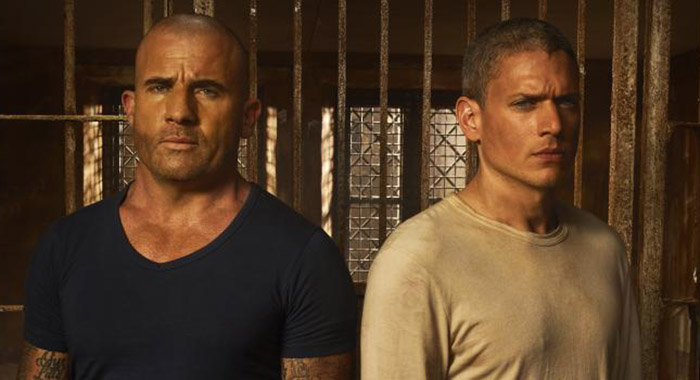 Prison Break's Dominic Purcell and Wentworth Miller (Fox)