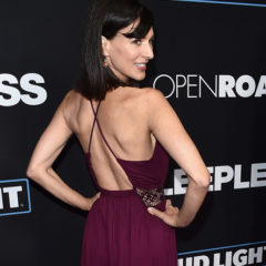 """LOS ANGELES, CA - JANUARY 05:  Actress Perrey Reeves attends the Premiere of Open Road Films' """"Sleepless""""  at Regal LA Live Stadium 14 on January 5, 2017 in Los Angeles, California.  (Photo by Alberto E. Rodriguez/Getty Images)"""