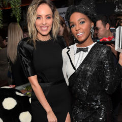 WEST HOLLYWOOD, CA - JANUARY 10:  Honoree Maeve Reilly (L) and recording artist Janelle Monae attend Marie Claire's Image Maker Awards 2017 at Catch LA on January 10, 2017 in West Hollywood, California.  (Photo by Charley Gallay/Getty Images for Marie Claire)