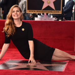 HOLLYWOOD, CA - JANUARY 11:  Actress Amy Adams attends star ceremony on the Hollywood Walk of Fame on January 11, 2017 in Hollywood, California.  (Photo by Alberto E. Rodriguez/Getty Images)