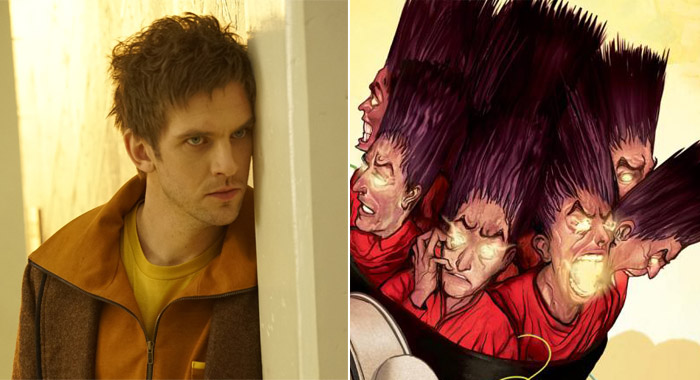 Legion Dan Stevens (Chris Large/FX); X-Men Legacy (Marvel.com)