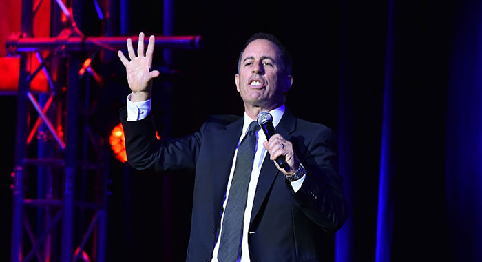 Jerry Seinfeld at Madison Square Garden in New York 2016 (Theo Wargo/Getty Images)