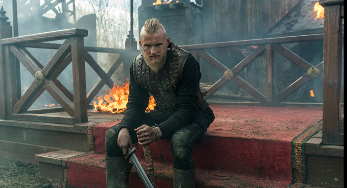 Alexander Ludwig in Vikings (Jonathan Hession/History)