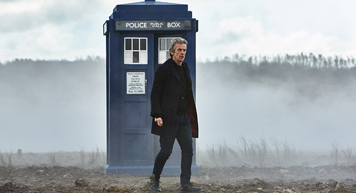 Peter Capaldi in Doctor Who (Simon Ridgway / BBC AMERICA)