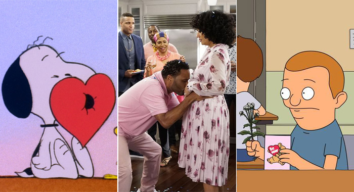BE MY VALENTINE, CHARLIE BROWN, black-ish, BOB'S BURGERS