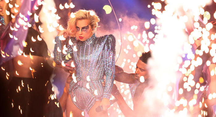 Lady Gaga Super Bowl 51 Houston, TX (Tom Pennington/Getty Images)