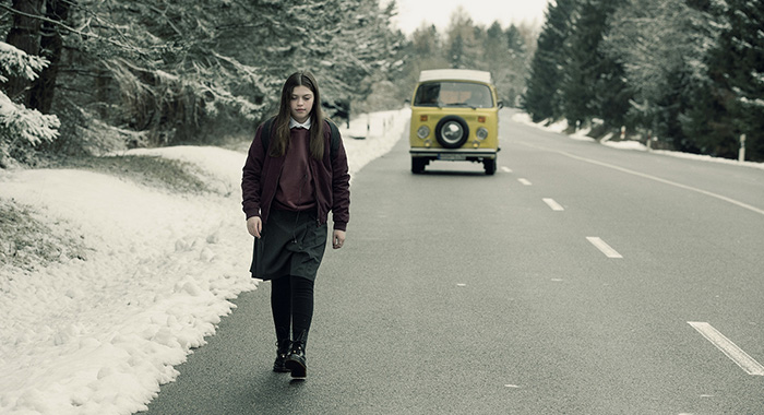 Madi Linnard in season 2 of The Missing (Sophie Mutevelian/New Pictures Limited/Starz)