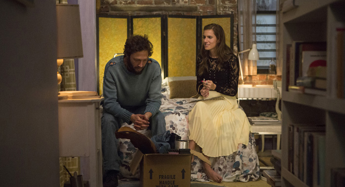 Ebon Moss-Bachrach, Allison Williams in Girls (Craig Blankenhorn/HBO)