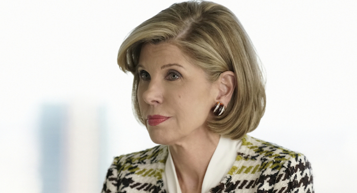 Pilot -- Episodic coverage of THE GOOD FIGHT. Pictured: Christine Baranski as Diane Lockhart. Photo: Patrick Harbron/CBS ©2016 CBS Interactive, Inc. All Rights Reserved