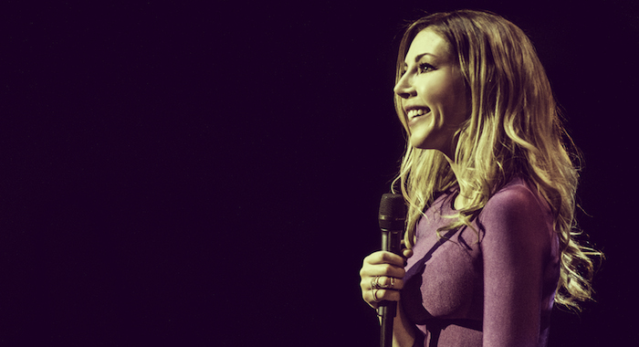 The Truth Behind 9 Jokes From Katherine Ryan S Netflix Special In Trouble Rotten Tomatoes Movie And Tv News