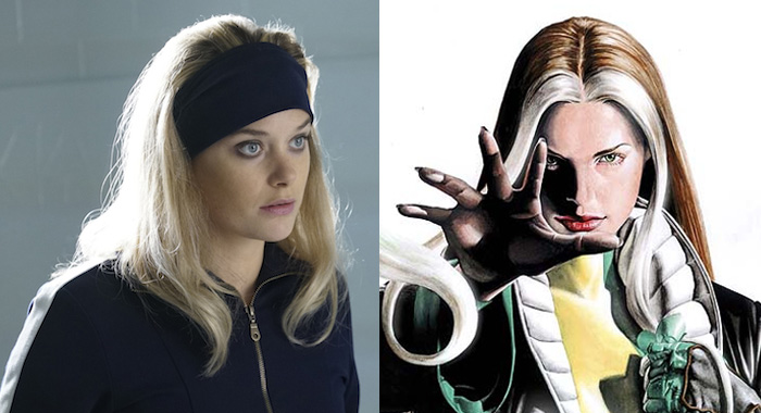 Rachel Keller in Legion; Rogue #3 - 2005 (Chris Large/FX; Marvel.com)