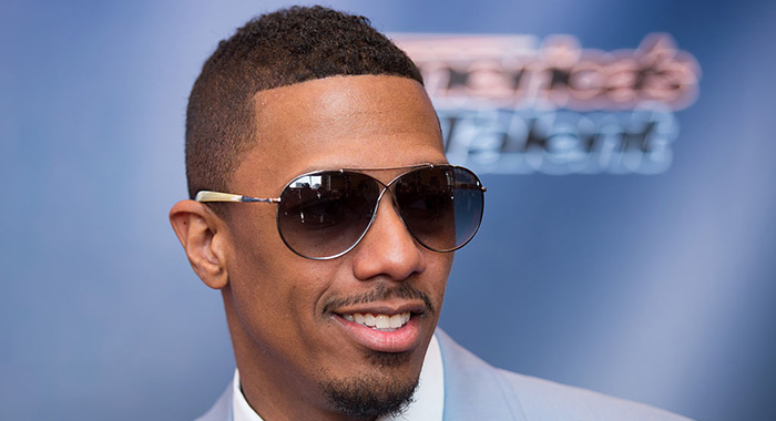 Nick Cannon arrives for America's Got Talent 2015 (Dave Kotinsky/Getty Images)