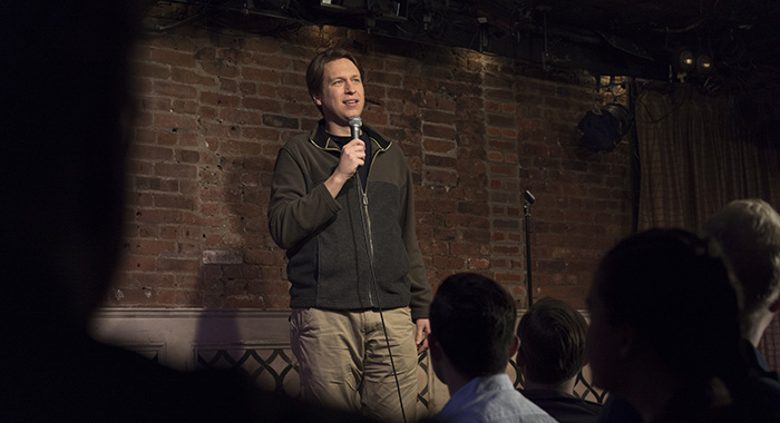 Pete Holmes in Crashing (Mary Cybulski/HBO)