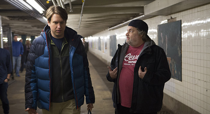 Pete Holmes, Artie Lange in Crashing (Mary Cybulski/HBO)