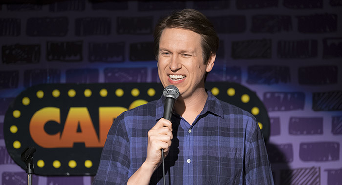 Pete Holmes in Crashing (Macall B. Polay/HBO)