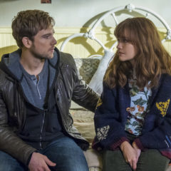 Max Thieriot, Olivia Cooke in Bates Motel (Cate Cameron/A&E)