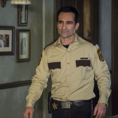 Nestor Carbonell in Bates Motel (Cate Cameron/A&E)