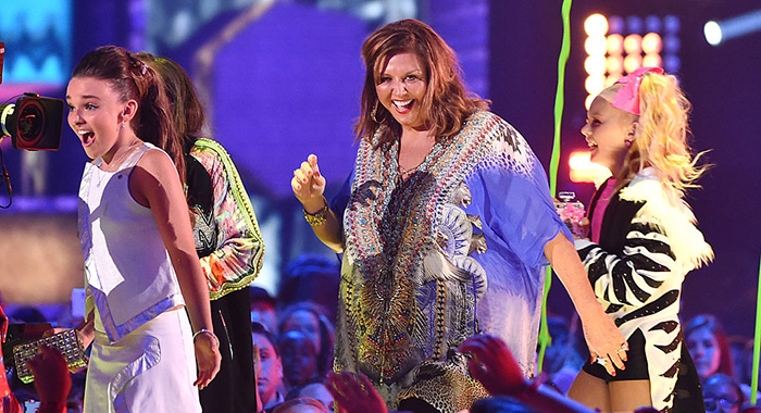 Dance Moms' Kendall Vertes, Abby Lee Miller, Jojo Siwa (Kevin Winter/Getty Images)