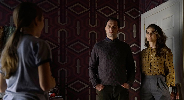 Holly Taylor, Matthew Rhys, Keri Russell in The Americans (Patrick Harbron/FX)