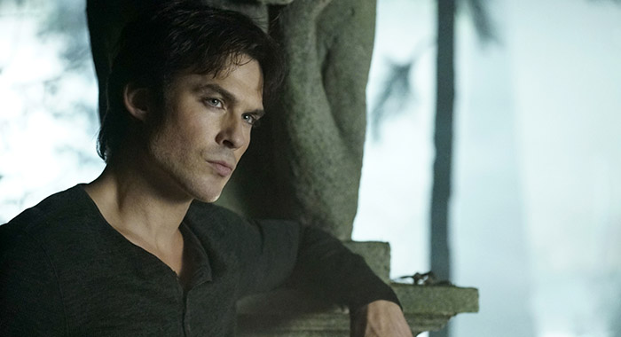 Ian Somerhalder in The Vampire Diaries (Photo: Annette Brown/The CW)