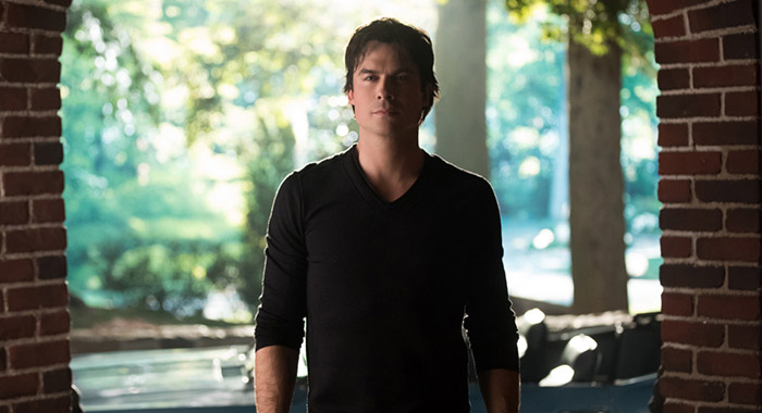 Ian Somerhalder as Damon in The Vampire Diaries (Bob Mahoney/The CW)