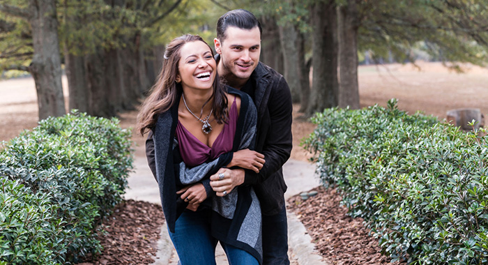 Kat Graham, Michael Malarkey in The Vampire Diaries (Tina Rowden/The CW)