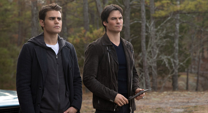 Paul Wesley as Stefan and Ian Somerhalder as Damon in The Vampire Diaries (Bob Mahoney/The CW)
