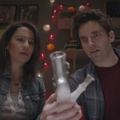 Ilana Glazer, Paul Downs in Time Traveling Bong (Comedy Central)