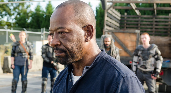 Lennie James as Morgan Jones - The Walking Dead _ Season 7, Episode 13 (Photo Credit: Gene Page/AMC)