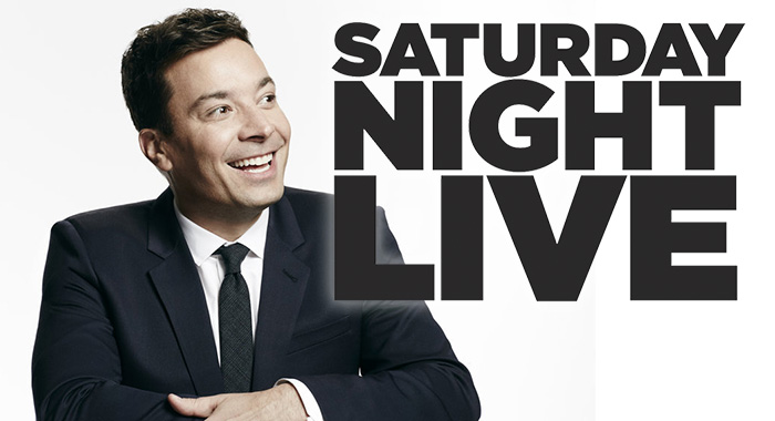 THE TONIGHT SHOW STARRING JIMMY FALLON / Saturday Night Live logo (NBC)