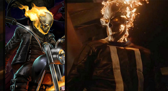 Ghost Rider Agents of SHIELD (Marvel Comics; ABC)