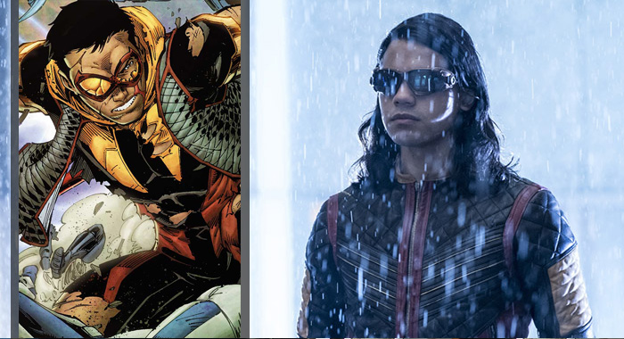Cisco (DC Comics); The Flash - Carlos Valdes ( Katie Yu/The CW)