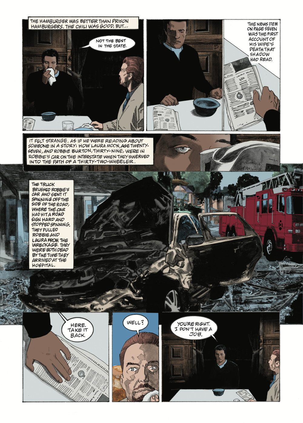 American Gods No. 2 page 2 (Dark Horse Comics, Inc.)