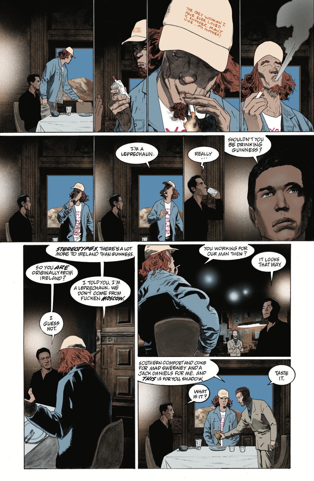 American Gods No. 2 page 3 (Dark Horse Comics, Inc.)