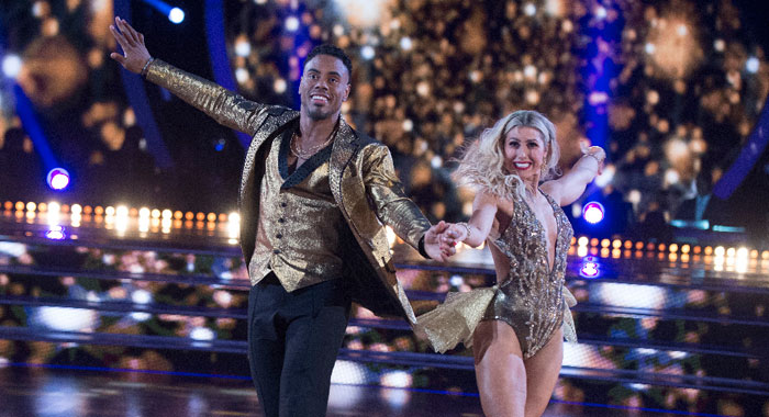 "DANCING WITH THE STARS - ""Episode 2401"" RASHAD JENNINGS, EMMA SLATER (ABC/Eric McCandless)"