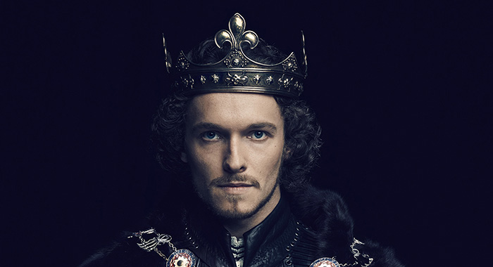 Jacob Collins-Levy (King Henry VII) in The White Princess (Starz)