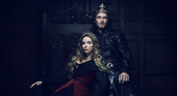 Jodie Comer, Jacob Collins-Levy in The White Princess (Starz)