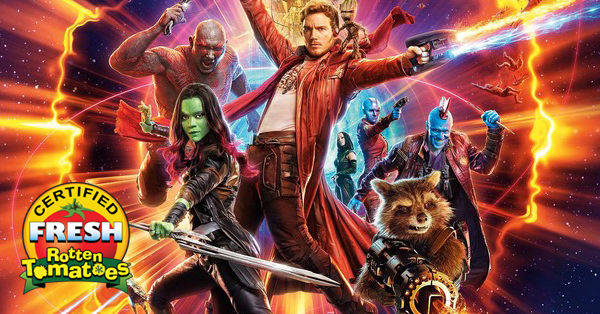 guardians of the galaxy vol 2 is certified fresh rotten tomatoes