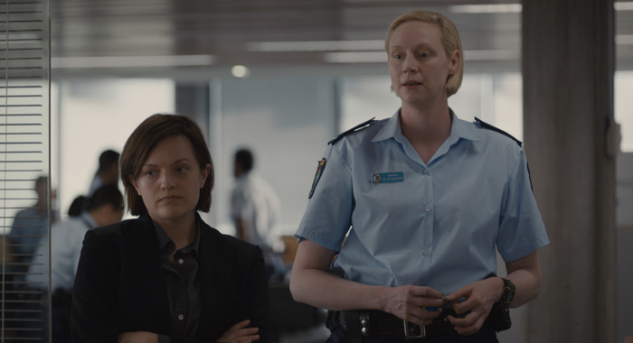 Elisabeth Moss and Gwendoline Christie) - Top of the Lake _ Season 2 (See-Saw Films (TOTL2) Holdings Pty Ltd/SundanceTV)