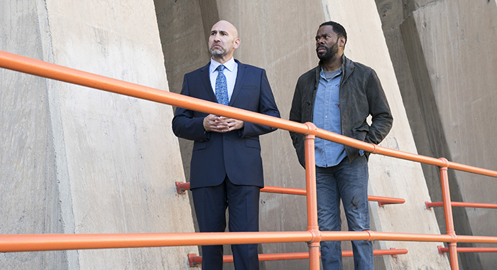 Colman Domingo as Victor Strand, Jason Manuel Olazabal as Dante Esquivel - Fear the Walking Dead (Michael Desmond/AMC)