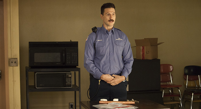 Pablo Schreiber as Pornstache in Orange is the New Black (Jessica Miglio/Netflix)