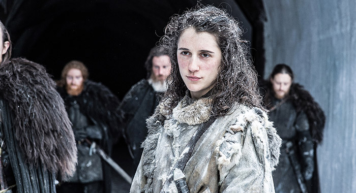 Ellie Kendrick, Game of Thrones season 7, episode 1 (Helen Sloan/courtesy of HBO)